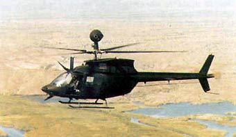 Вертолет OH-58 Kiowa, фото с сайта www.armyrecognition.com